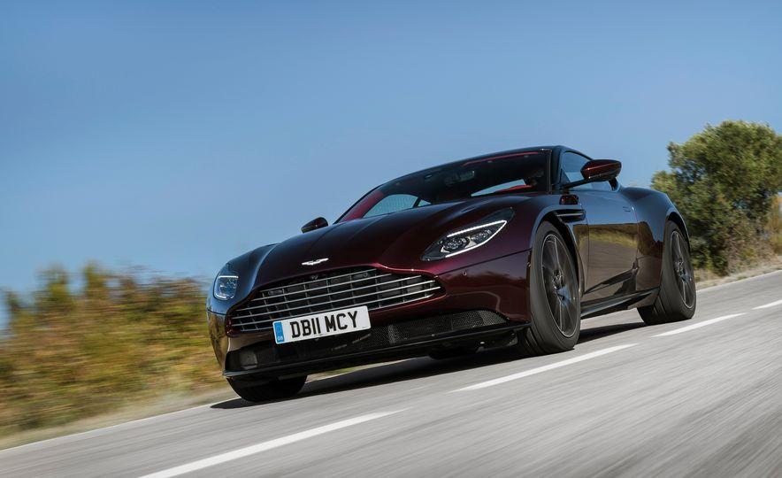 2018 Aston Martin DB11 V-8 - Slide 113