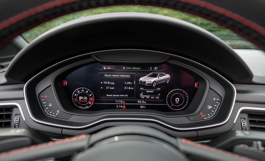 2018 Audi S5 Cabriolet - Slide 83