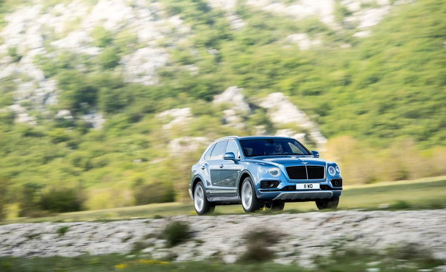 2018 Bentley Bentayga Diesel - Slide 1
