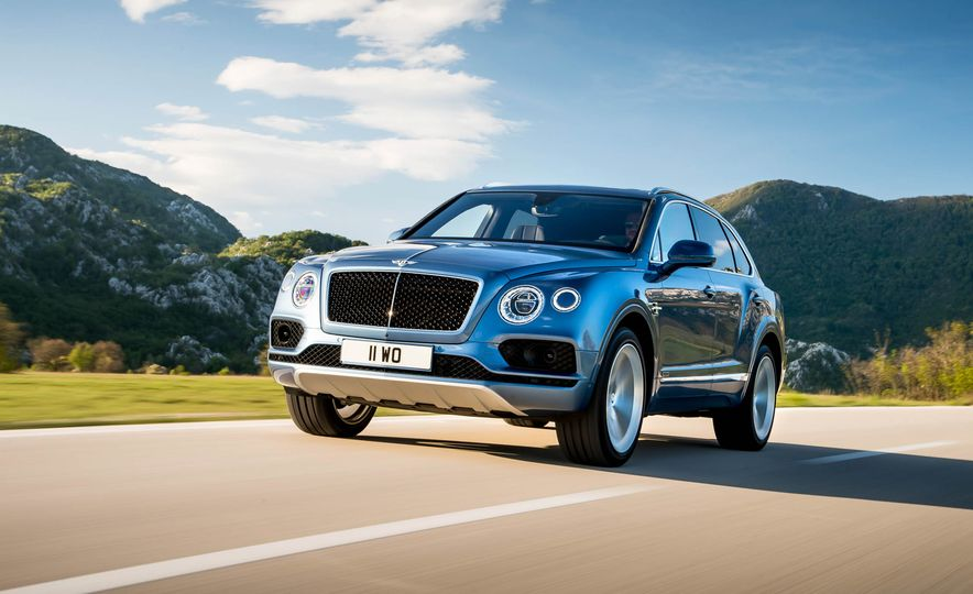 2018 Bentley Bentayga Diesel - Slide 6