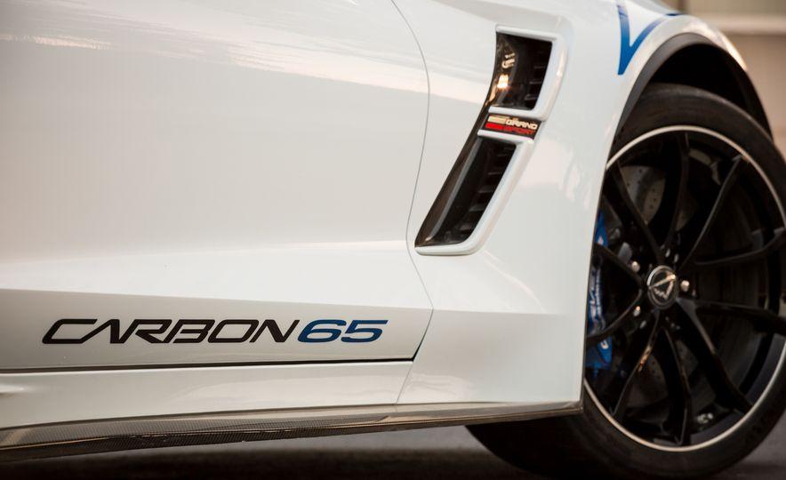 2018 Chevrolet Corvette Grand Sport Carbon 65 - Slide 25