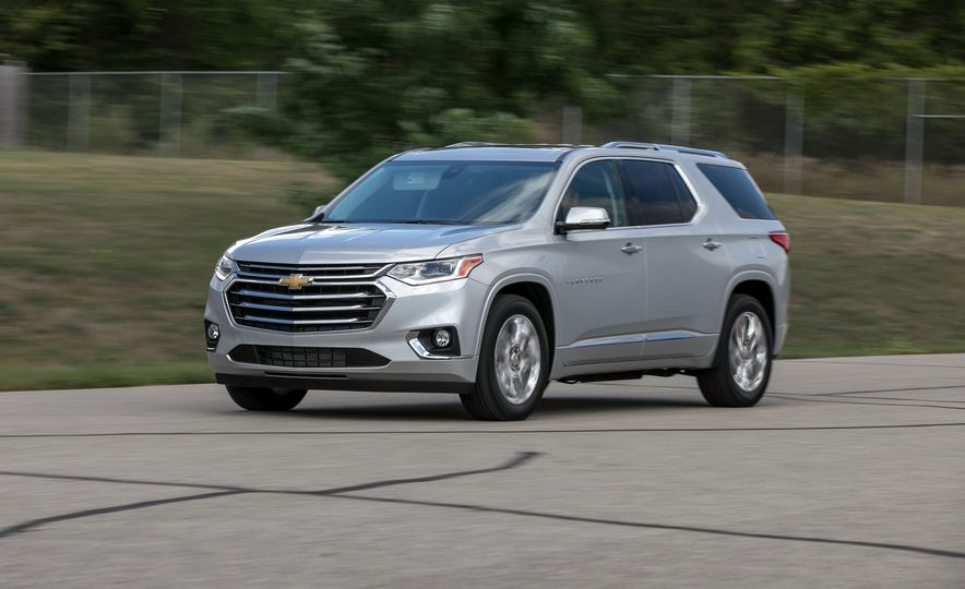 2018 Chevrolet Traverse - Slide 1