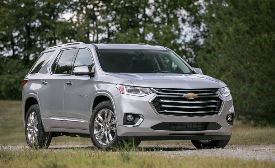 2018 Chevrolet Traverse - Slide 14