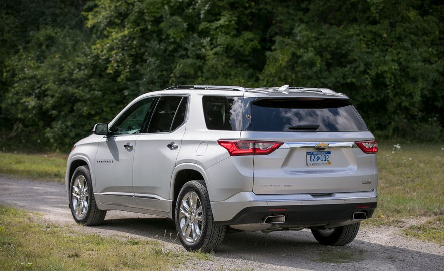 2018 Chevrolet Traverse - Slide 20