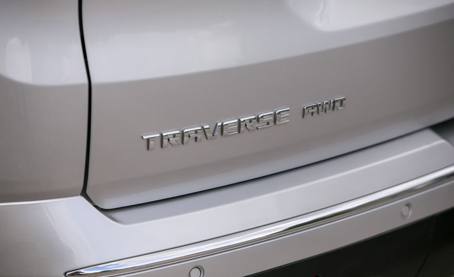 2018 Chevrolet Traverse - Slide 36