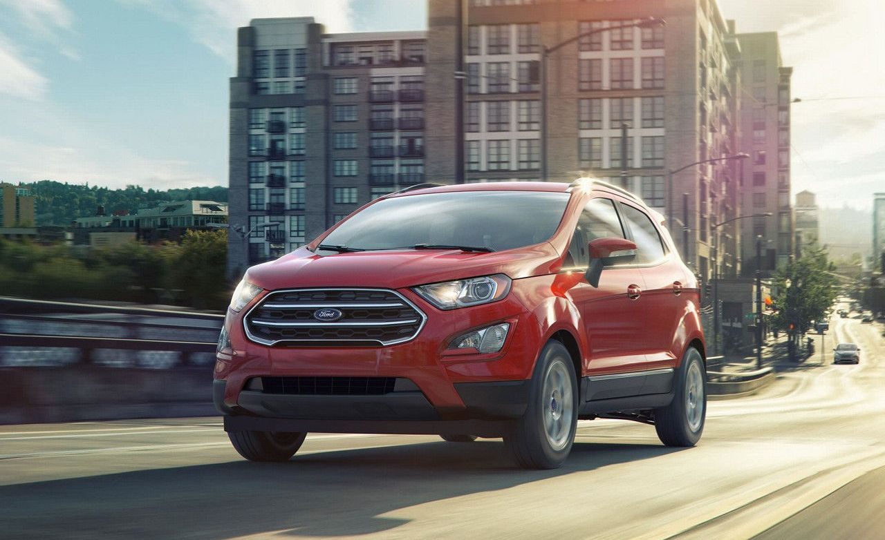 2018 Ford EcoSport - Slide 1 & 2018 Ford EcoSport Pictures   Photo Gallery   Car and Driver markmcfarlin.com