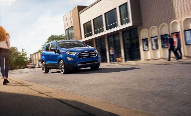 Eco-Nomical: Ford EcoSport Starts at $20,990, Arrives Early 2018