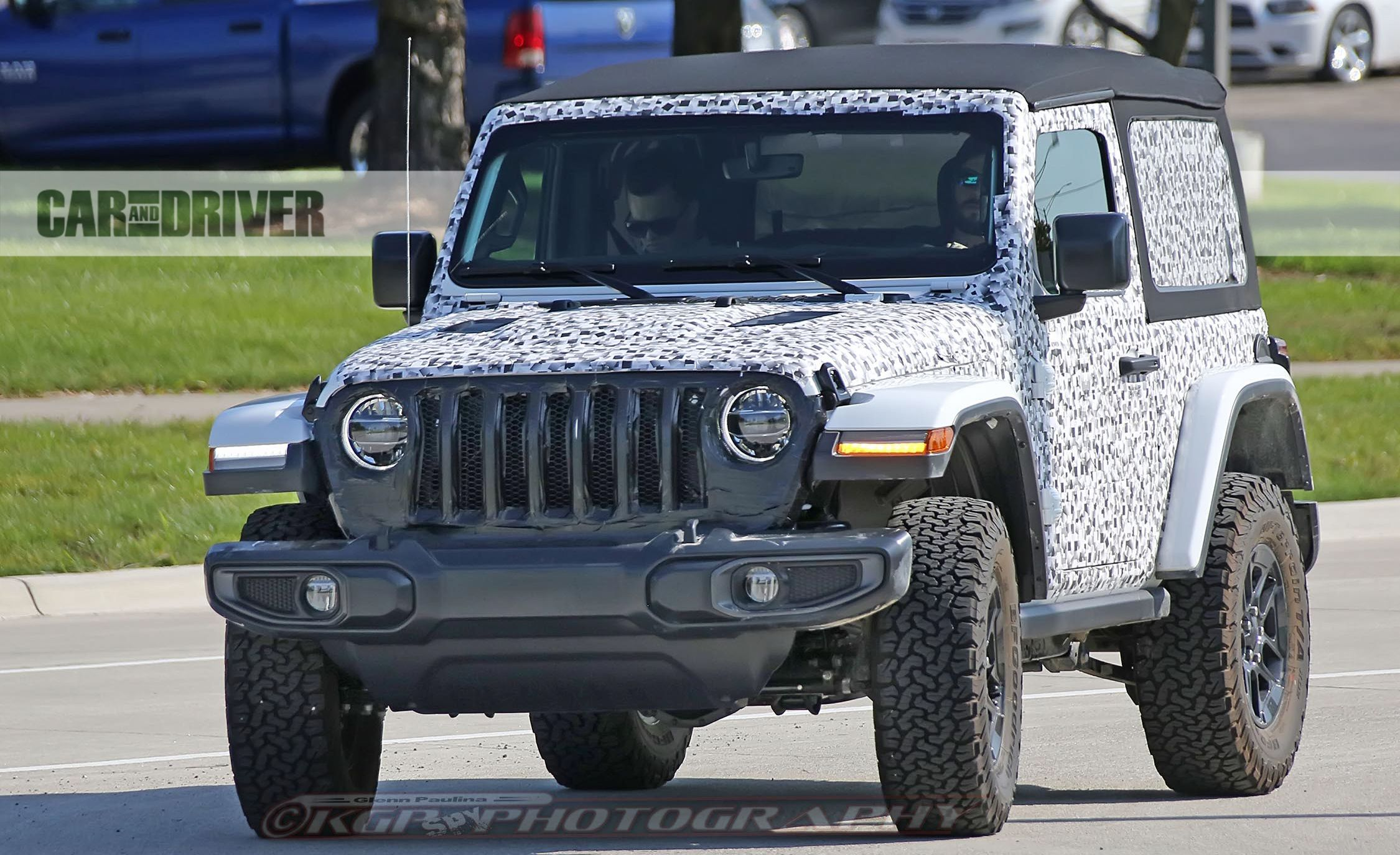 2018 Jeep Wrangler Spy Photo Pictures Gallery Car And