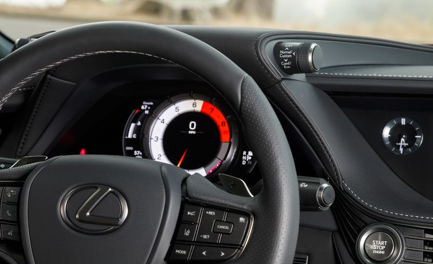 2018 Lexus LS500 AWS F Sport - Slide 25