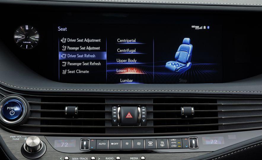 2018 Lexus LS500 AWS F Sport - Slide 35