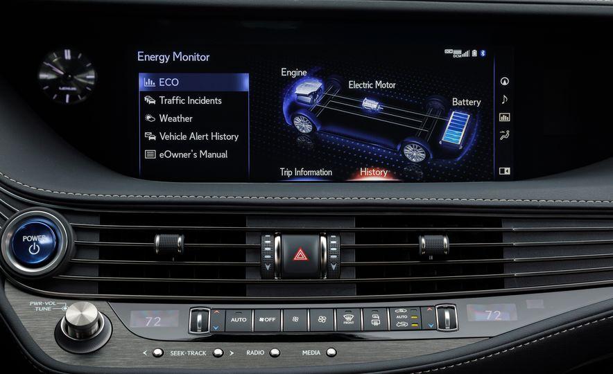 2018 Lexus LS500 AWS F Sport - Slide 38