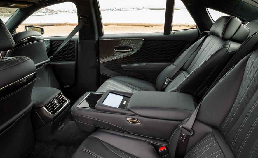 2018 Lexus LS500 AWS F Sport - Slide 59
