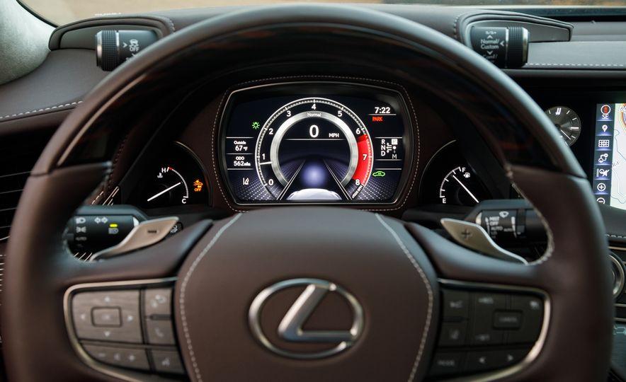 2018 Lexus LS500 AWS F Sport - Slide 75