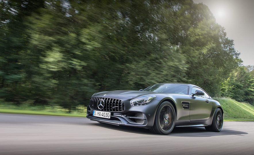 2018 Mercedes-AMG GT C Edition 50 coupe - Slide 1