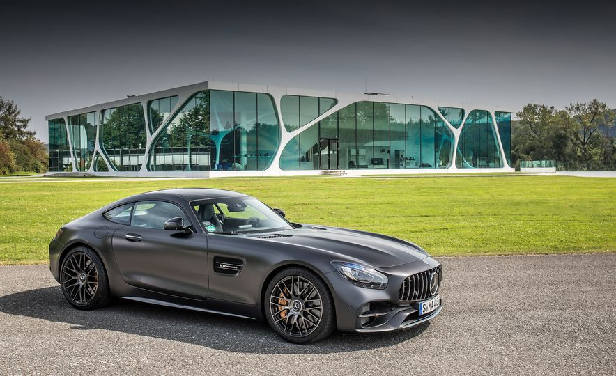 2018 Mercedes-AMG GT C Edition 50 coupe - Slide 8