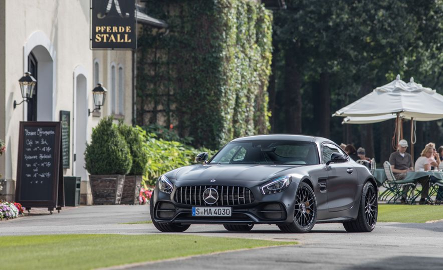 2018 Mercedes-AMG GT C Edition 50 coupe - Slide 9