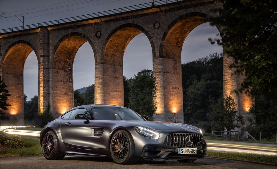 2018 Mercedes-AMG GT C Edition 50 coupe - Slide 12