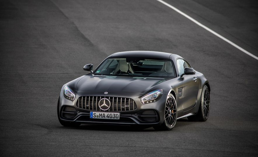 2018 Mercedes-AMG GT C Edition 50 coupe - Slide 14