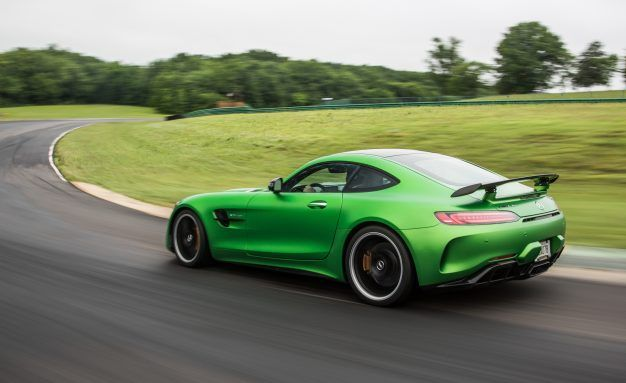 If You Can't Beat 'Em, Buy 'Em: The Raciest Version of Mercedes' AMG GT R Wears Corvette Tires