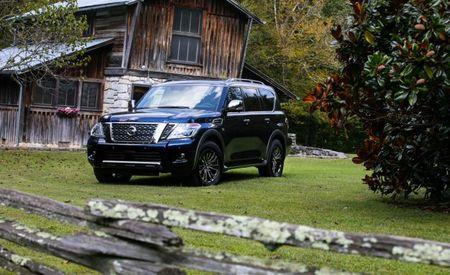 2018 Nissan Armada Platinum Reserve Brings a Bit More Bling