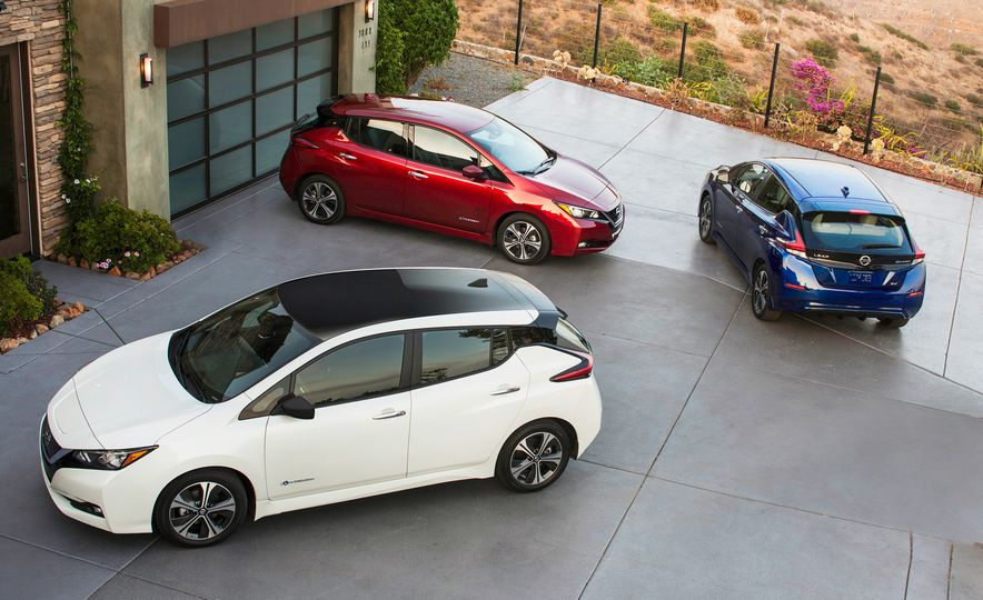 2018 Nissan Leaf - Slide 2