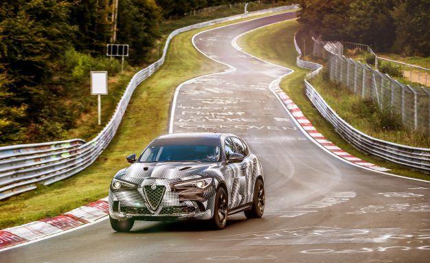 Alfa Romeo Stelvio Quadrifoglio Sets New 'Ring Record for SUVs; Alfa/Porsche Grudge Match Heats Up [Video]