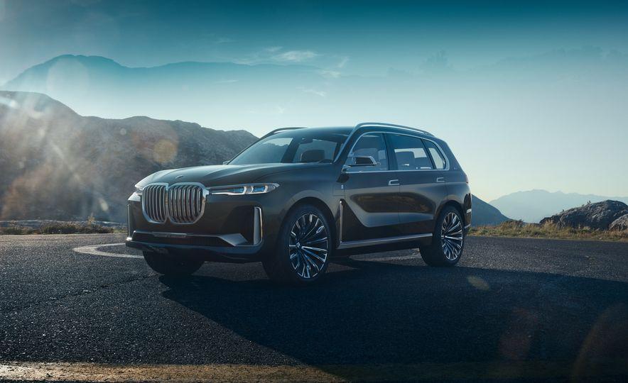 BMW Concept X7 iPerformance - Slide 1
