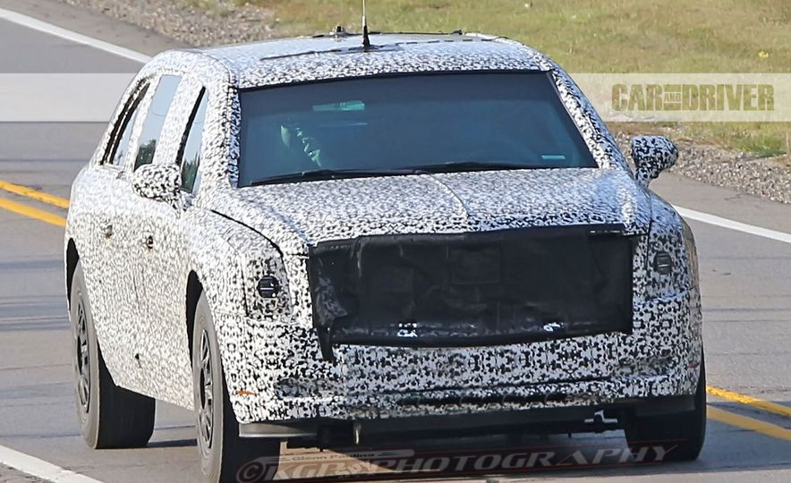 Cadillac Presidential Limousine (spy photo) - Slide 2