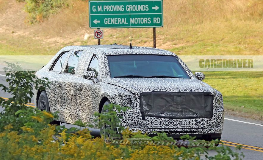 Cadillac Presidential Limousine (spy photo) - Slide 3