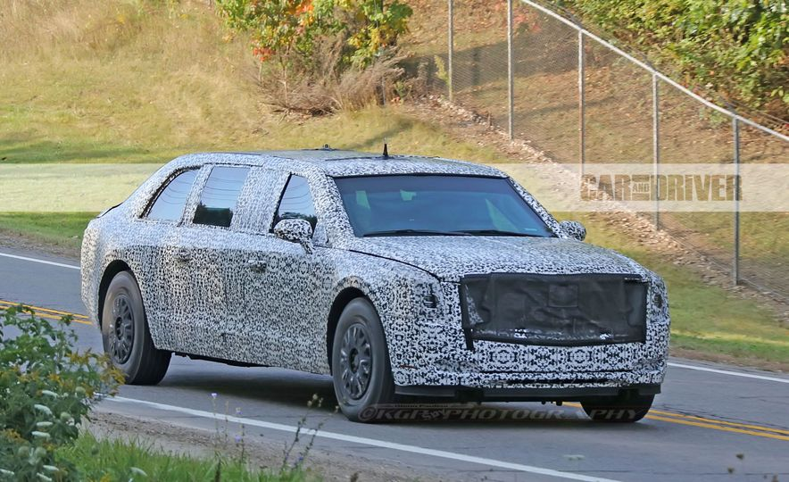 Cadillac Presidential Limousine (spy photo) - Slide 4