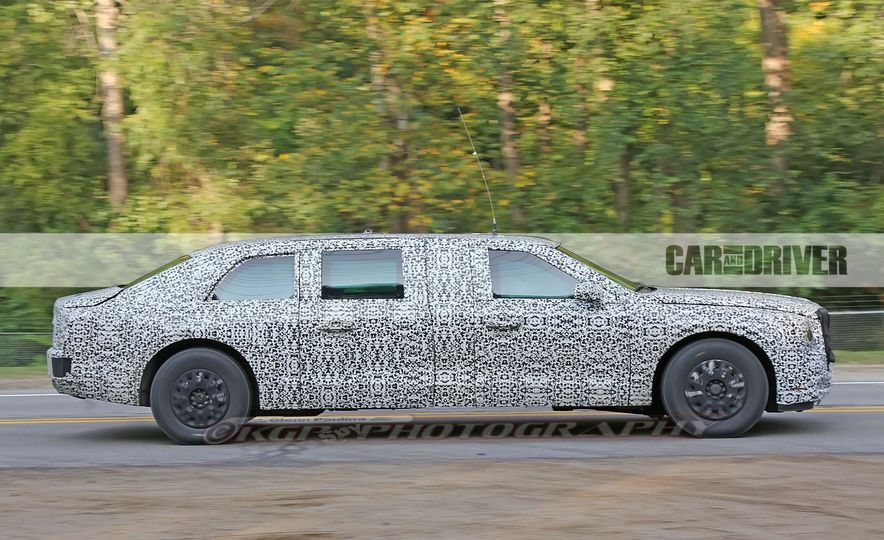 Cadillac Presidential Limousine (spy photo) - Slide 6