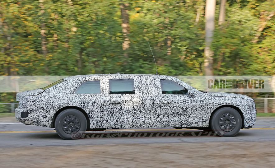 Cadillac Presidential Limousine (spy photo) - Slide 7