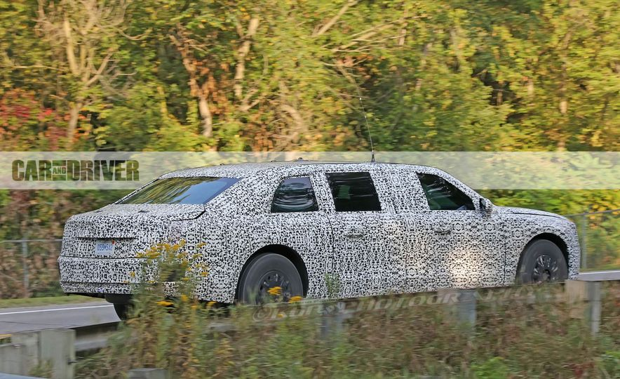 Cadillac Presidential Limousine (spy photo) - Slide 8