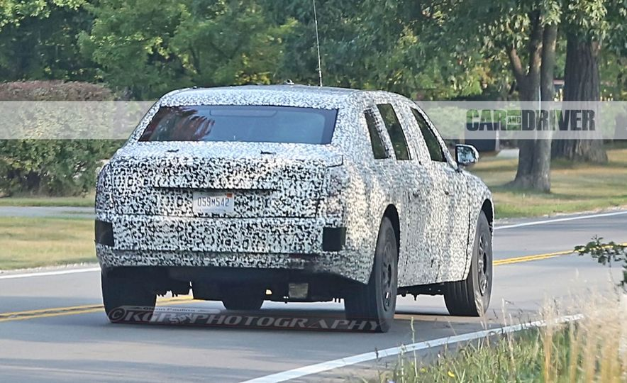 Cadillac Presidential Limousine (spy photo) - Slide 9