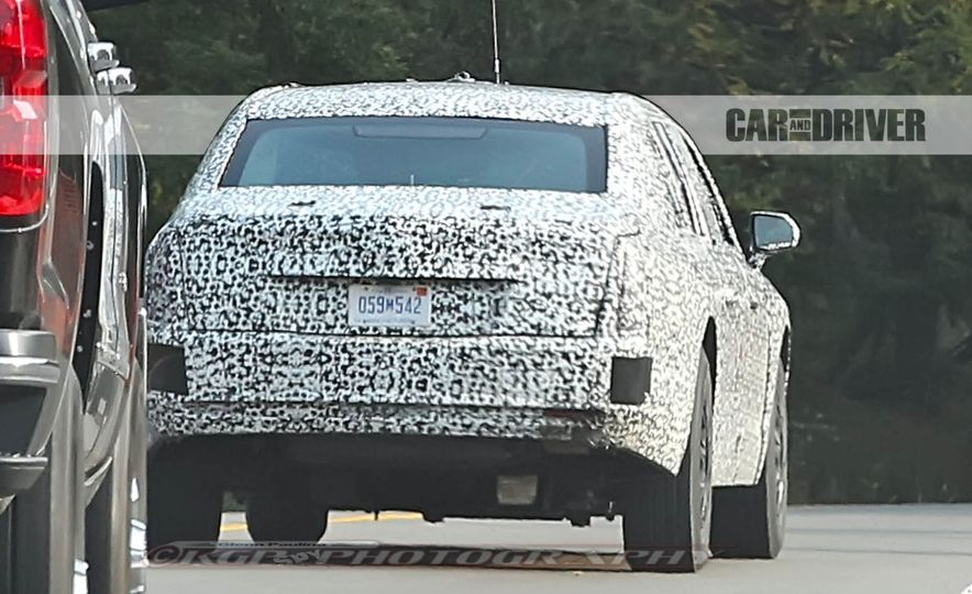 Cadillac Presidential Limousine (spy photo) - Slide 10