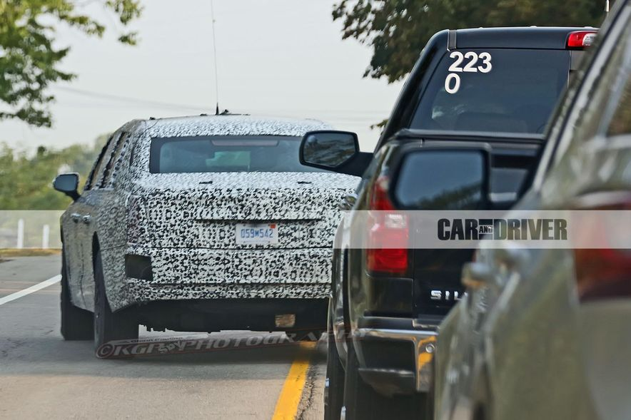 Cadillac Presidential Limousine (spy photo) - Slide 13