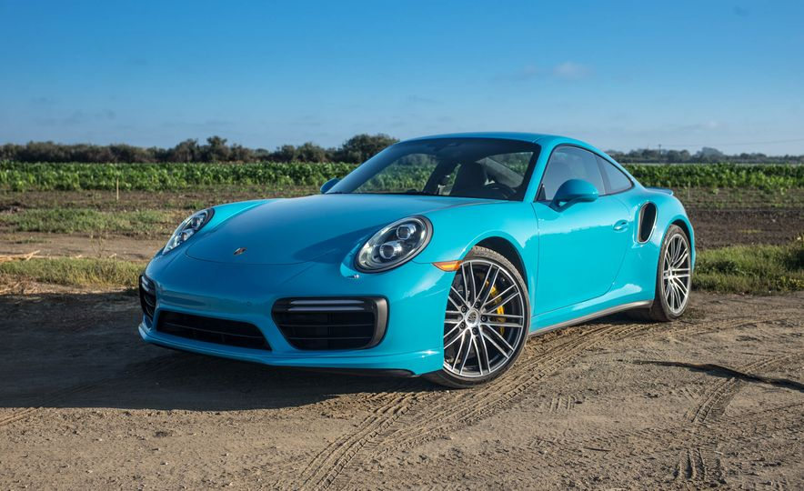 2017 Porsche 911 Turbo S - Slide 2