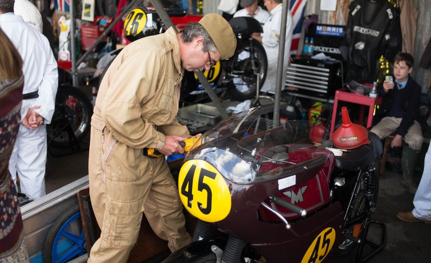 Festival of Cosplay: The 2017 Goodwood Revival Will Torque Your Head - Slide 92