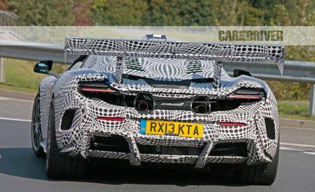 Big Mac and Flies: McLaren Teases with Giant-Winged Prototype