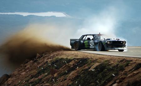 "Watch ""Climbkhana,"" Epic Video of Ken Block's 1400-HP Mustang Attacking Pikes Peak"
