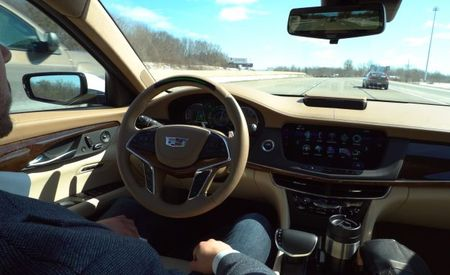 Hands-Free Caddy: 2018 Cadillac CT6 Launches Super Cruise Semi-Autonomous Feature