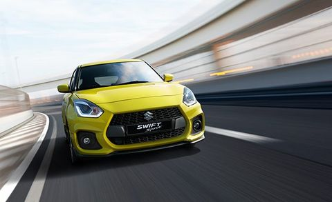 Suzuki S New Swift Sport Makes 138 Hp And Weighs 2100 Pounds News