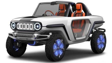 Jimny Cricket, It's a Suzuki 4WD Electric Thingy!