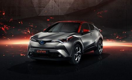 More Oomph, Even Weirder Looks: Toyota Shows C-HR Hy-Power Concept