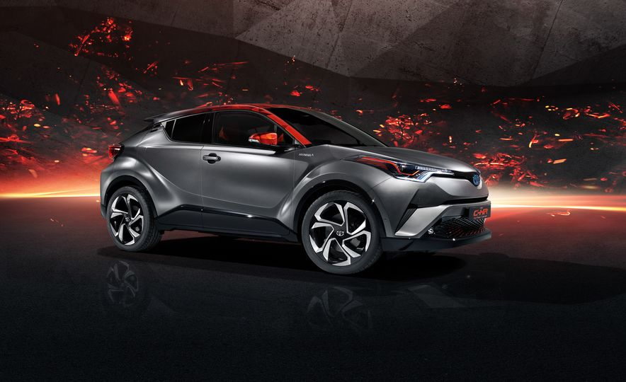 Toyota C-HR Hy-Power concept - Slide 4