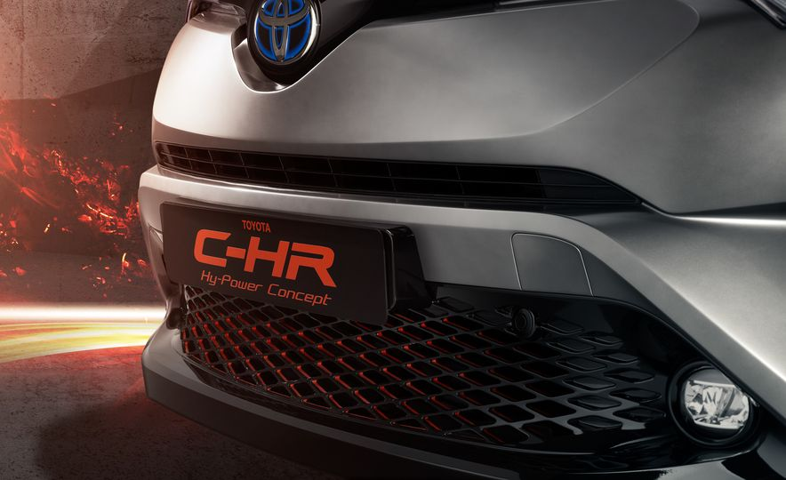 Toyota C-HR Hy-Power concept - Slide 12
