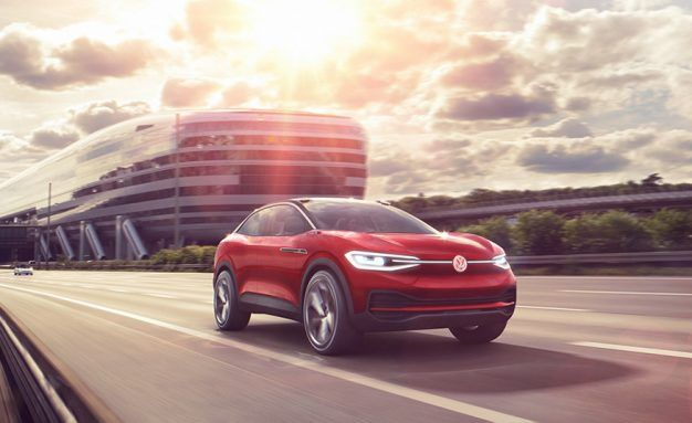 EV in Red: Volkswagen I.D. Crozz II Concept Gets a Makeover