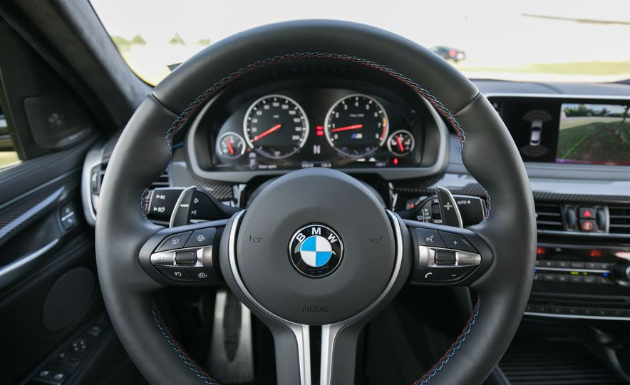 2017 BMW X6 M - Slide 56