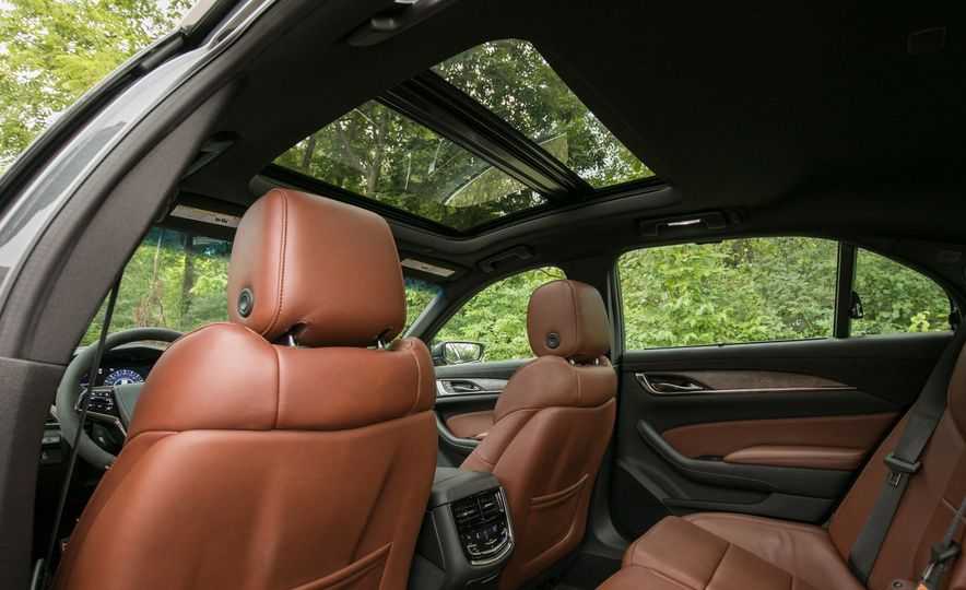 2017 Cadillac CTS - Slide 42