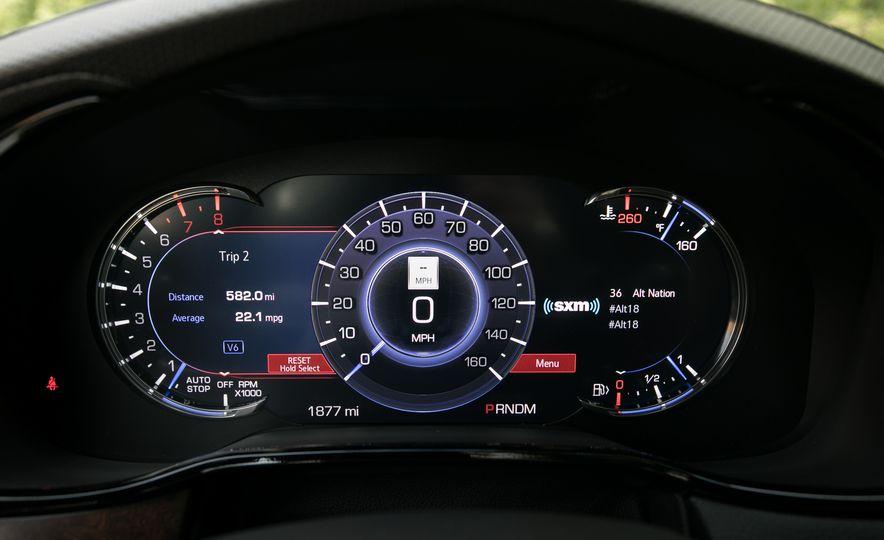 2017 Cadillac CTS - Slide 52